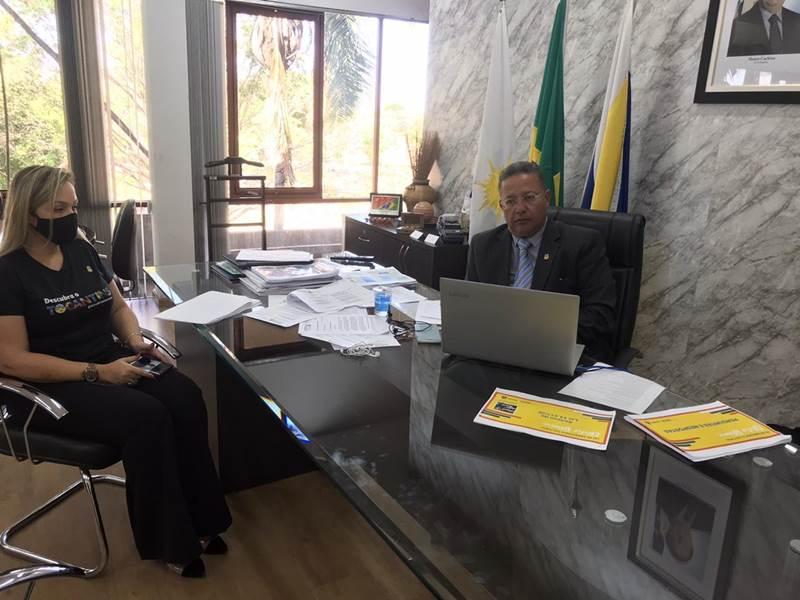 Governo do Tocantins discute com ATM e artistas aplicação da Lei Aldir Blanc